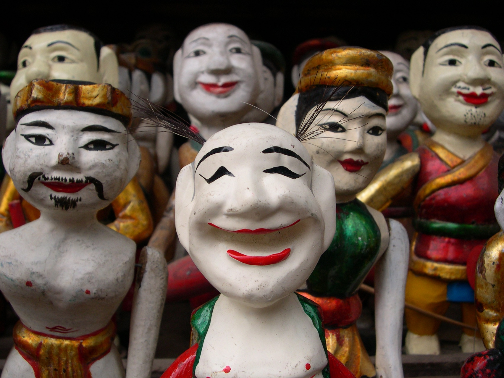 Water puppets in the Old Quarter of Hanoi, Vietnam. Photograph by Danny Fay. CC-BY-SA 2.5