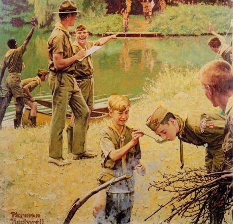 1980s Boy Scout Handbook cover