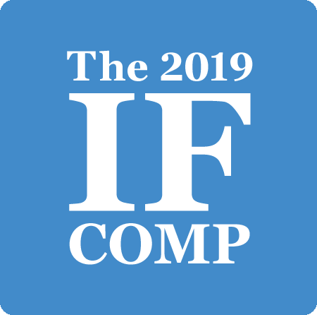 Logo of the 2019 IFComp.