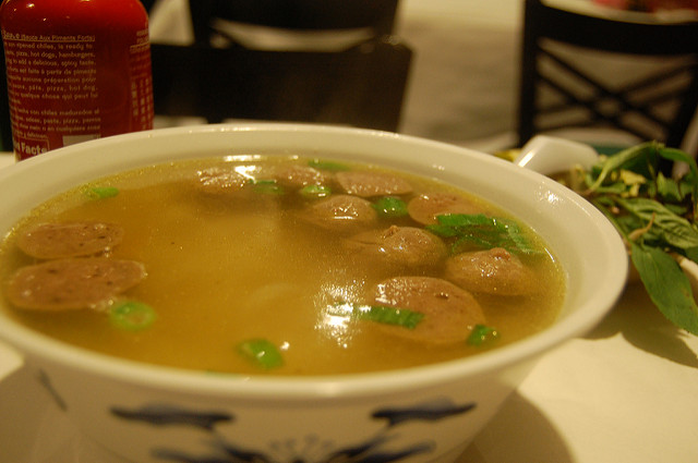 Meatball Soup, photo by stu_spivack, CC-BY-SA 2.0
