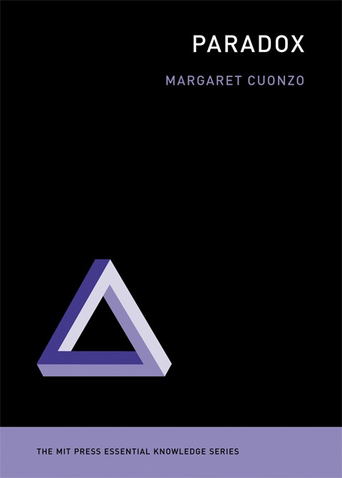 The cover of the book 'Paradox', by Margaret Cuonzo.