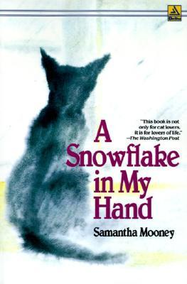 Front cover of 'A Snowflake in my Hand' by Samantha Mooney