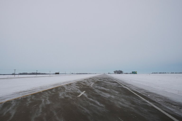 The road to The North