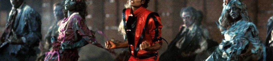 A still from Michael Jackson's 'Thriller' music video.