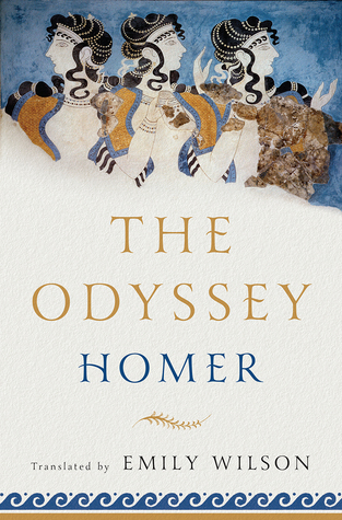 Cover of Emily Wilson's new translation of The Odyssey.